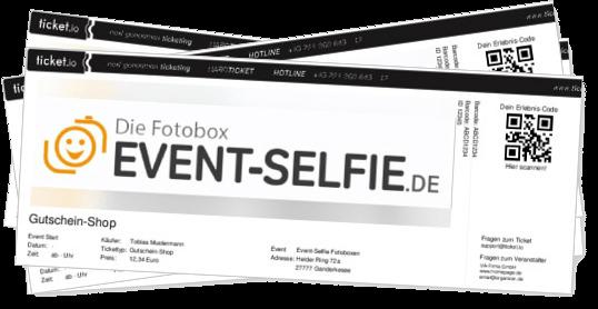 Gutscheine Fotobox event-Selfie